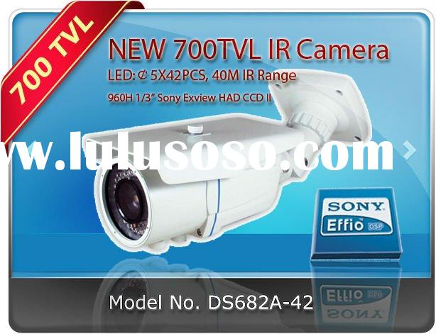 700tvl IR waterproof camera cctv