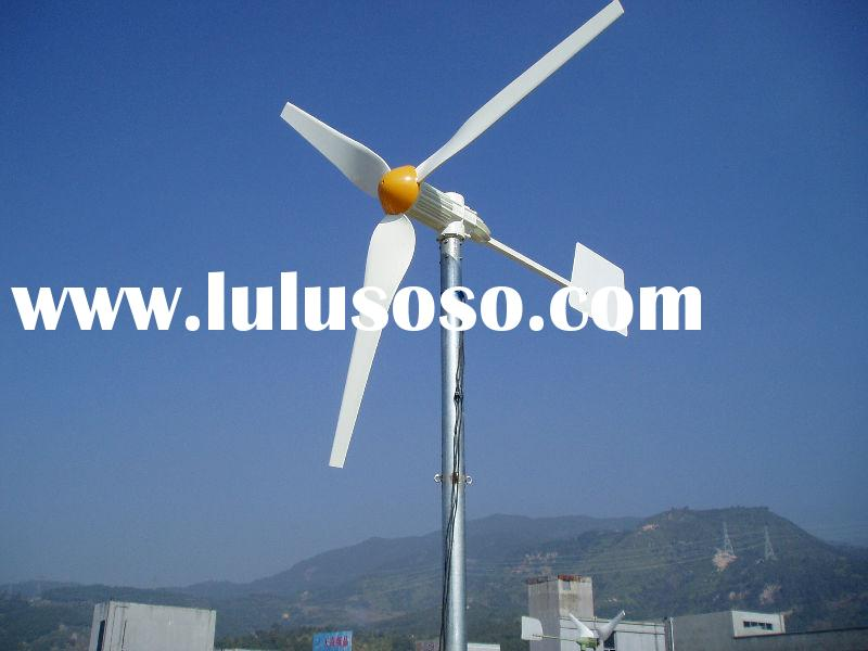 750W vertical wind turbine generator for home hybrid solar