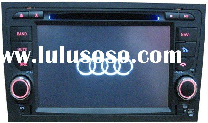"7"" Audi A4 car dvd player with touch screen, bluetooth, GPS, ipod, RDS, steering wheel control,"