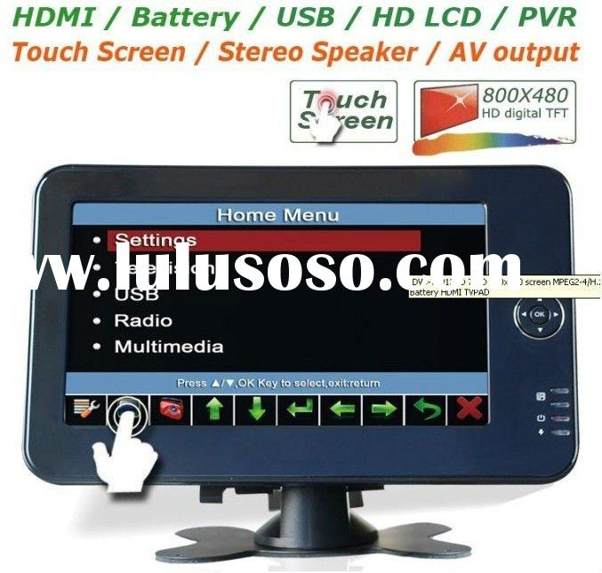 7 inch High Definition LCD touch screen monitor with HDMI/AV/VGA digital TV