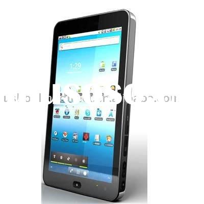7 inch capacitive Multi-touch Widescreen Tablet pc/MID/UMPC/laptop built in 3G with phone function