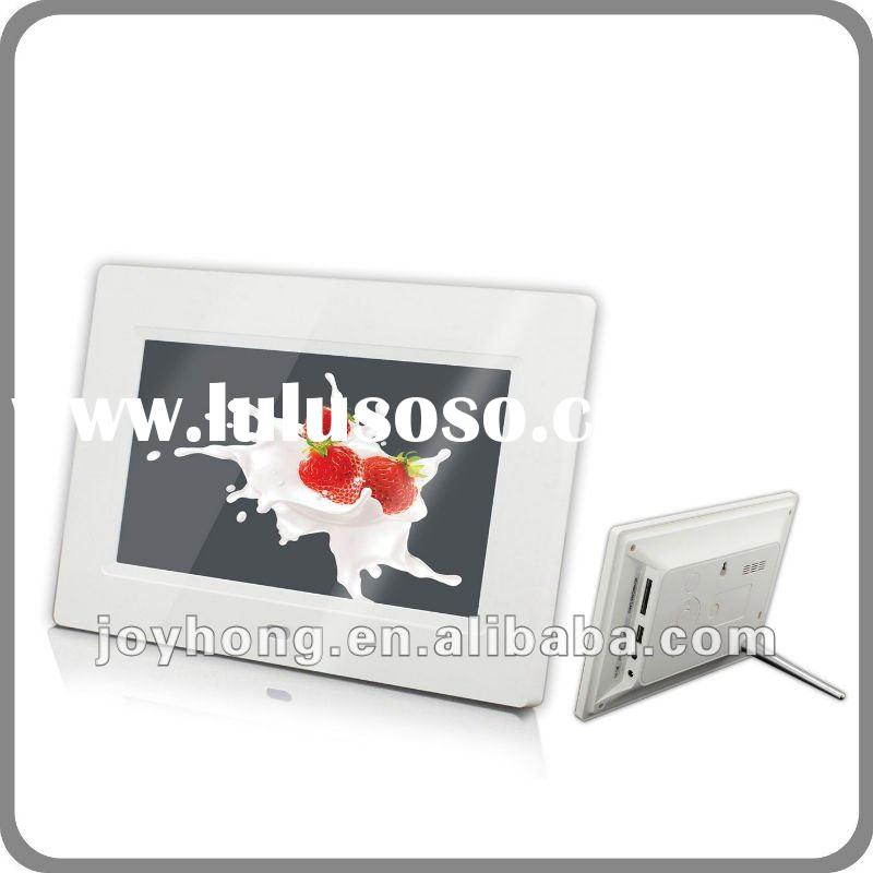 7 inch digital photo frame with multi-function