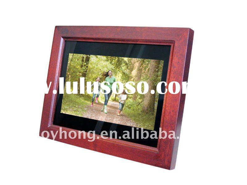 7 inch wooden digital photo frame new design