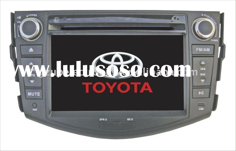 7inch double din Customized car dvd used for Toyota Corolla 9th, Vios / RAV4/ Hilux