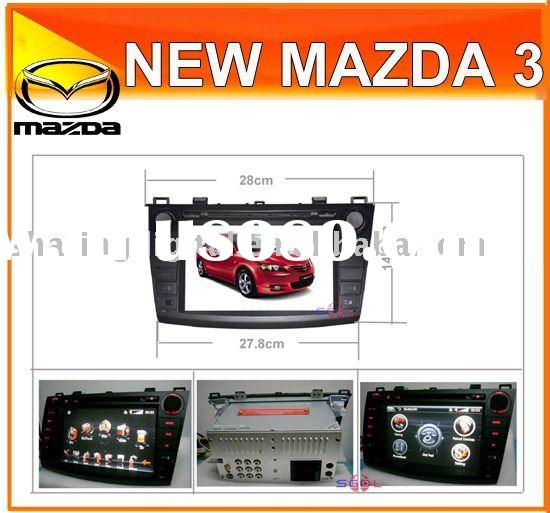 "8"" Touch screen HD Car DVD Players with GPS for New Mazda 3"