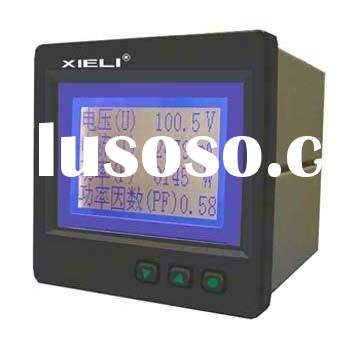 AC digital voltage meter three phase