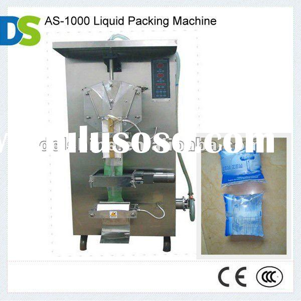 AS-1000 Sachet Water Filling Packing Machine