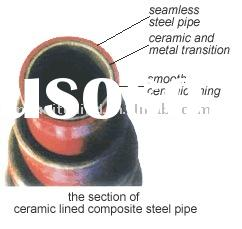 Abrasion resistant pipe and fittings