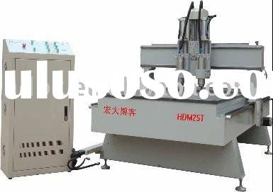 Auto -tool changing woodworking machine