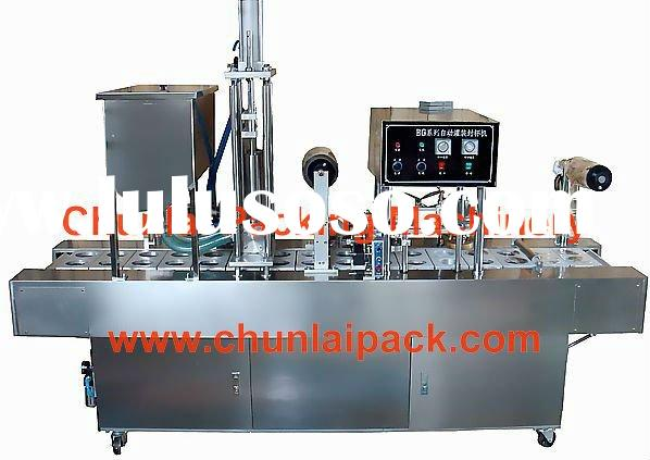 BG32A plastic cup filling sealing machine