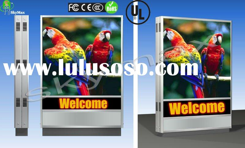 BUS STATION Advertising Full Color LED Display Sign