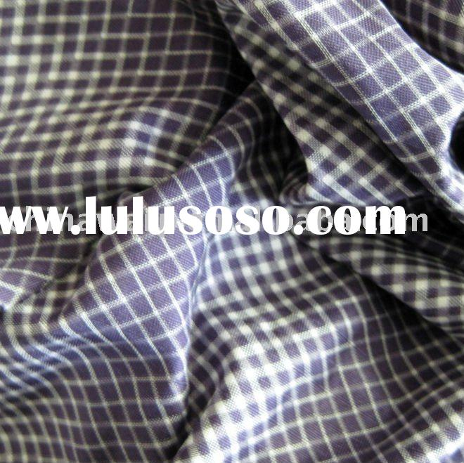 BV certificate yarn dyed 100% natural silk fabric