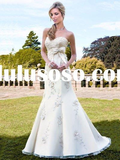 Ball Gown Knee-Length popular bridal wedding dress