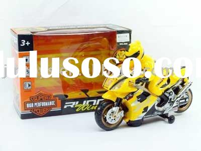 Battery Operated Toy Car,B/O Motorcycle with Light & Music,2 Different Color