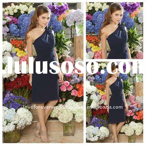 Best Selling Modest Bridesmaid Dresses One-shoulder
