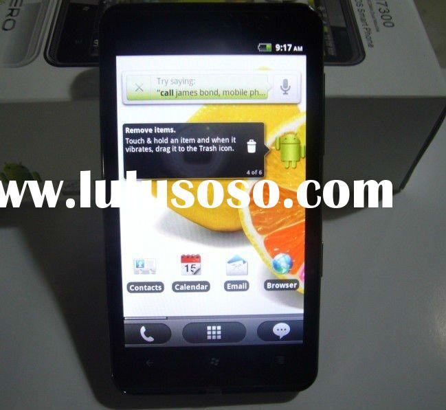 Big screen 4.3inch capacitive screen android 2.2 mobile phone HD7 (Paypal)