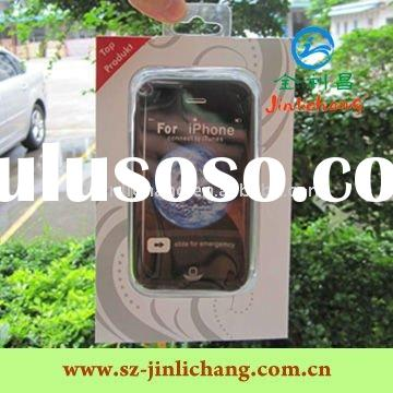 Blister packaging for mobile phones with paper card