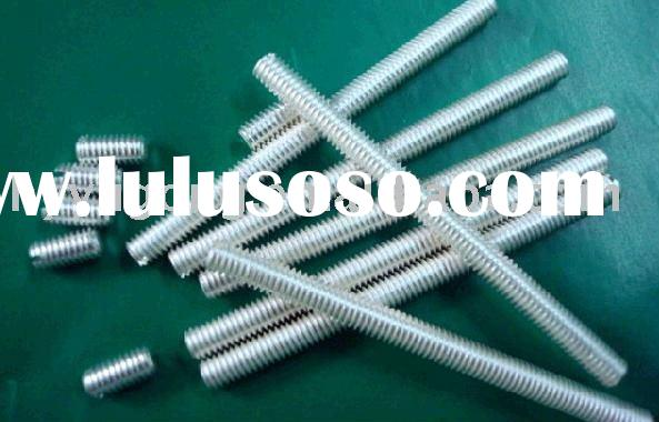 Blue zinc plate Threaded rod