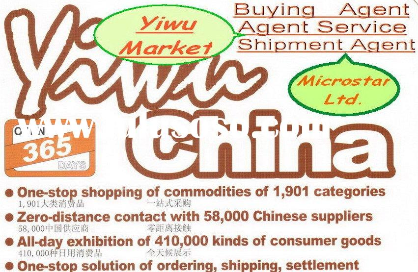 Business agent in Yiwu market/yiwu trade agent/yiwu commodity agent