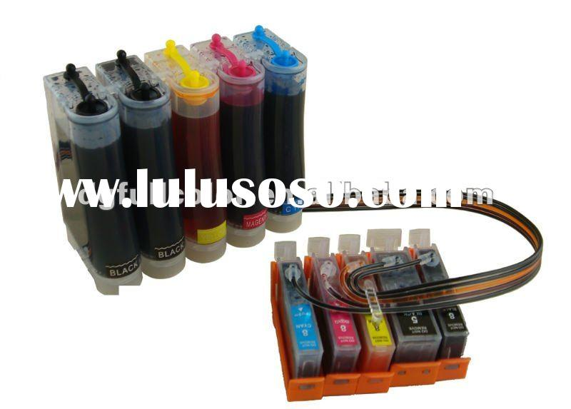 CISS ink system with ink for Canon PIXMA MX870 printer