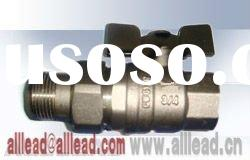 CW617n brass ball union pipe connector valve