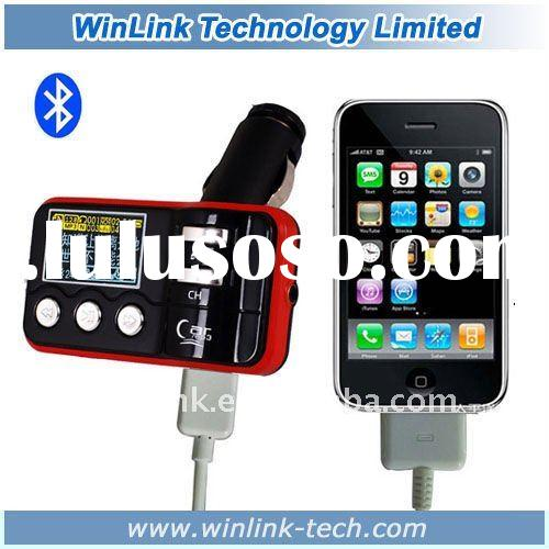 Car Bluetooth FM Transmitter +steering wheel remote control