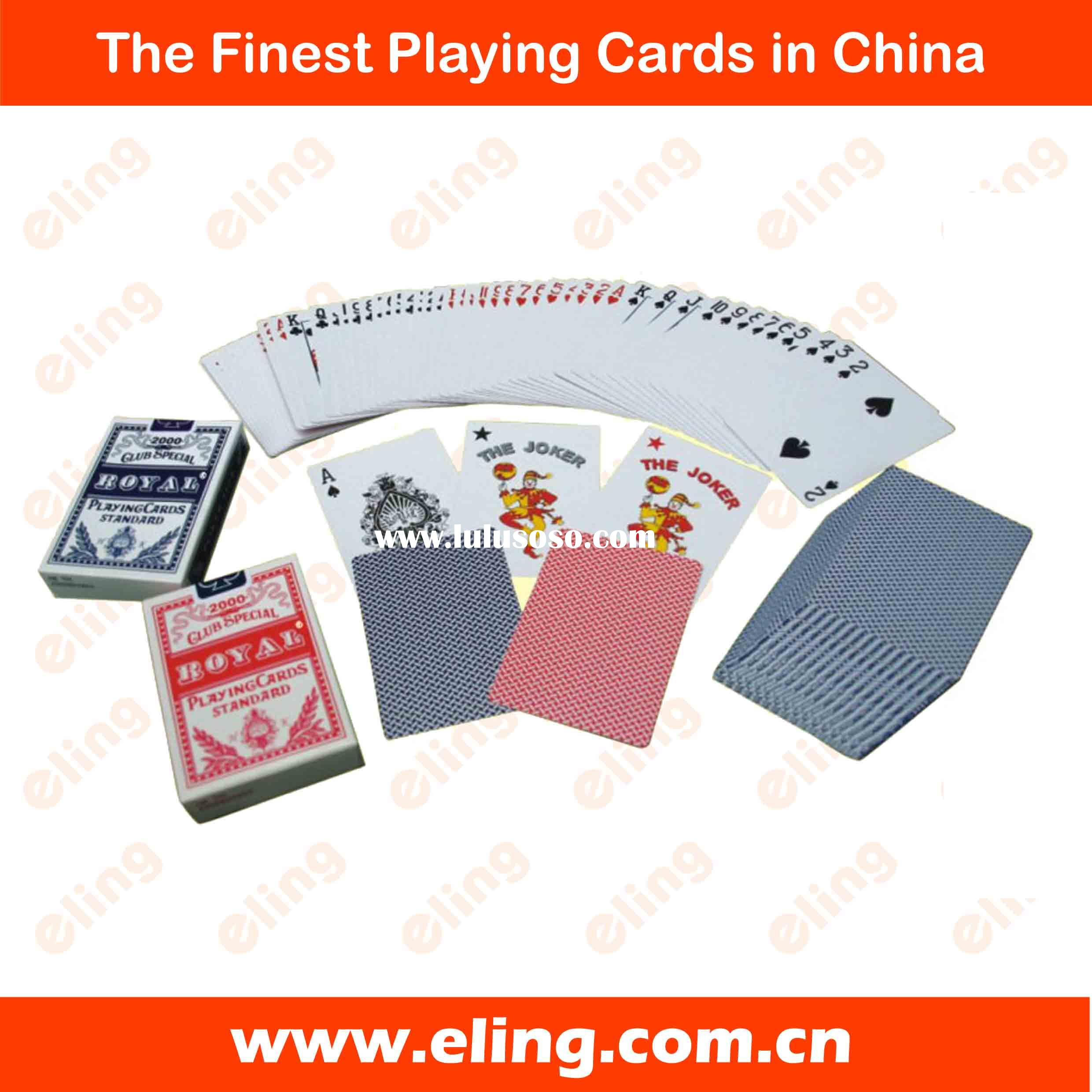 Casino Quality Play Card or Poker Card or Playing card