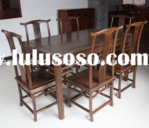 Chinese Wooden dining table set,dining chair,table chairs