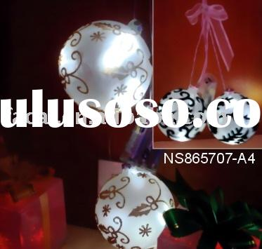 Christmas light /decoration light (glass ball ceiling light)