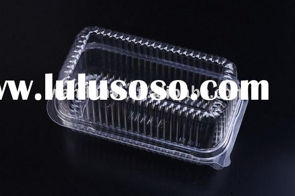 Clear plastic Cookies box/Deli box/Deli Container