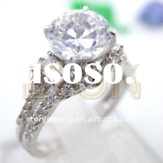 Costume newest fashion 925 sterling silver engagement ring (R5574)