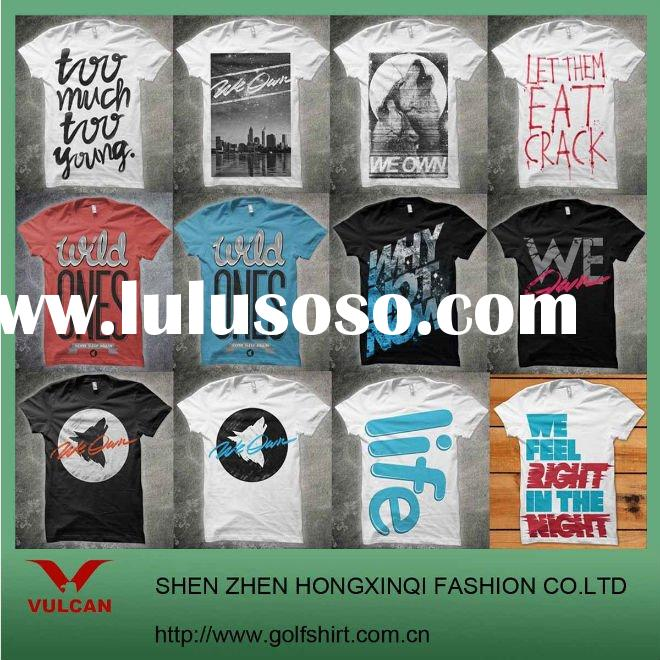 Customized Printing T Shirts