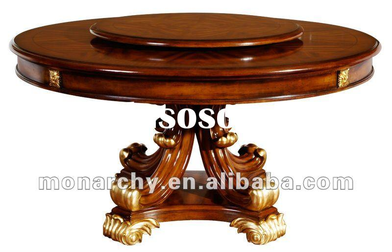 D127-43 high quality solid wood pictures of dining table