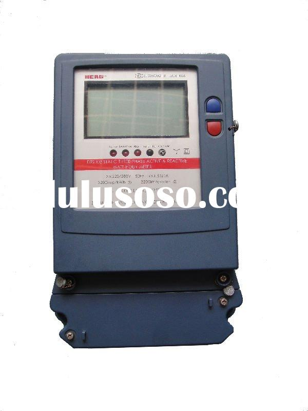 DTS(X)3/DSS(X)3 Three-phase Static Active/Reactive Energy Meter