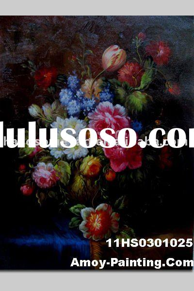 Decoration Flower Oil Painting Pictures