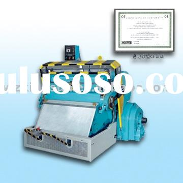 Die Cutting and Creasing Machine with CE Certificate