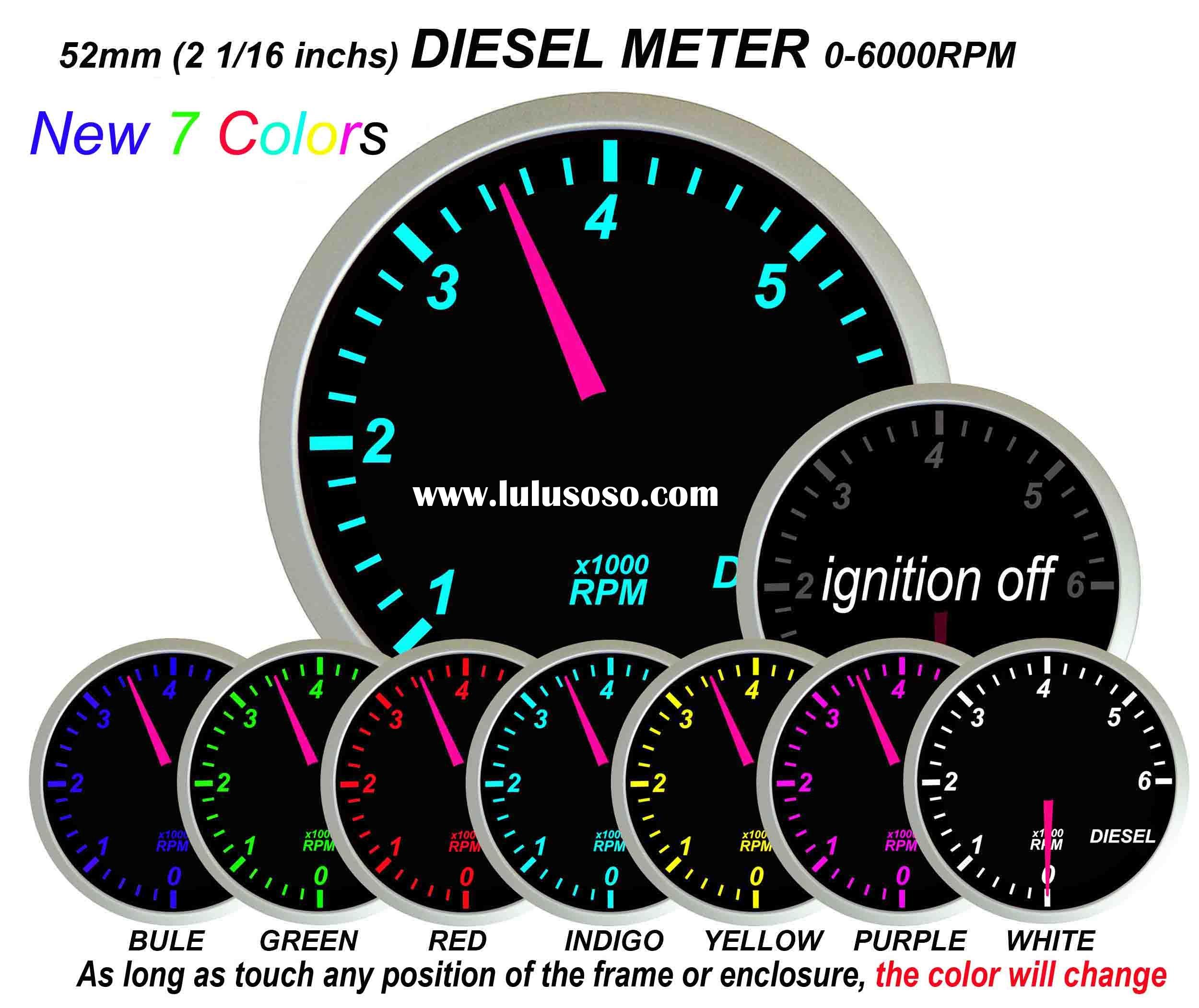 Diesel RPM Gauge (auto meter, auto part)