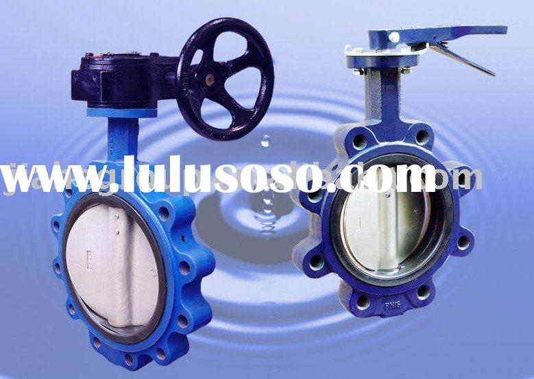 Different type butterfly valve with good price and good quality
