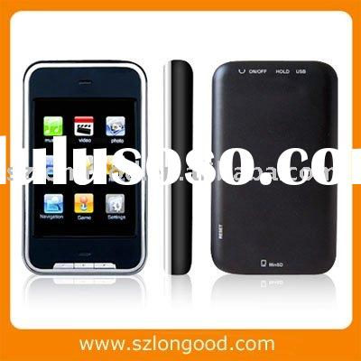 Digital MP4 Player with 2.8 inch touch screen