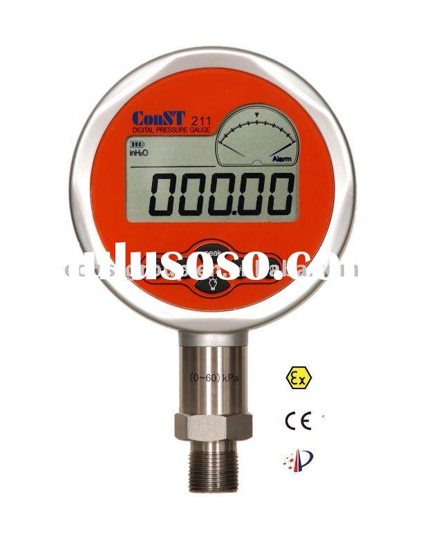 Digital water pressure gauge (high accuracy manometer)