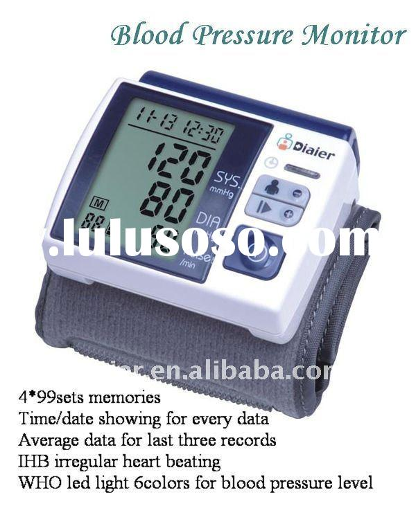Digital wrist type Blood Pressure Monitor CE ROHS FDA quality