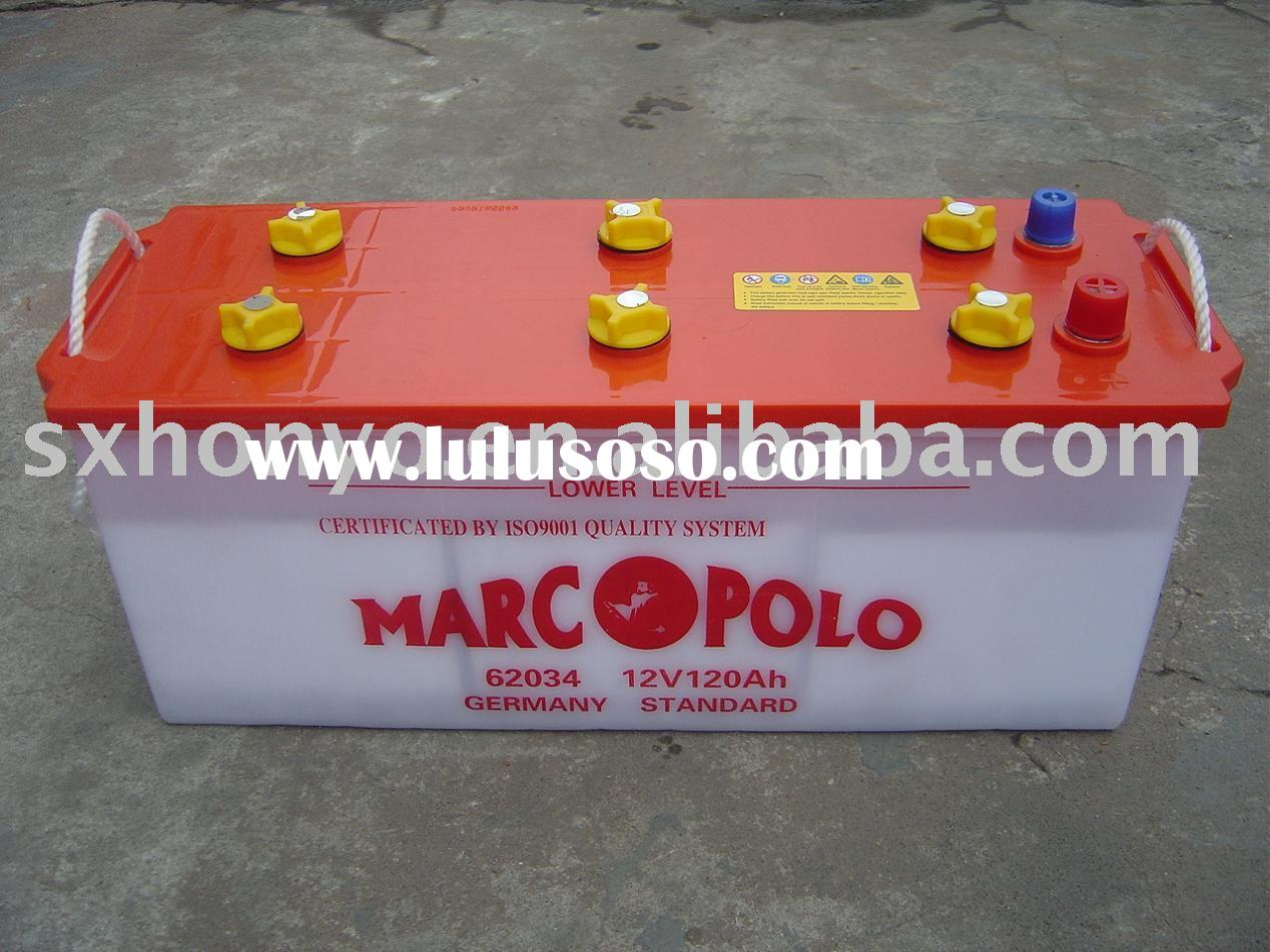 Dry charged Automotive Battery Car battery auto battery