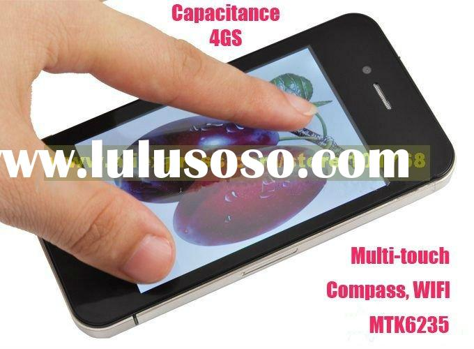 "EMS Freeshipping Compass 4GS Capacitance Phone: Quad Band, Dual Sim, 3.5"" Capacitive Multi-touc"