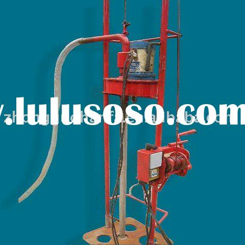 Economical, Practical Electromotor Driven Portable Water well Drilling Equipment