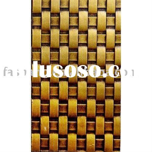 Embossed decorative wood panel! Texture mdf wall panel for interior decor!