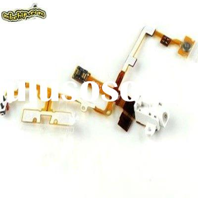 FOR IPHONE 3GS Audio flex cable white/Headphone Jack Replacement Audio Flex Cable for iPhone 3GS Whi
