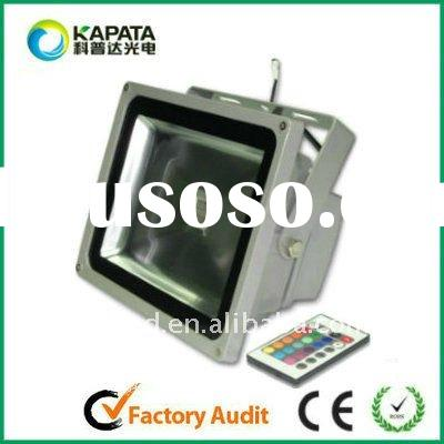 Factory for 30W RGB high power led flood light