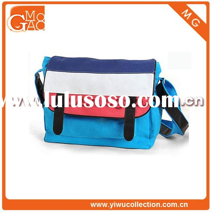 Fashion Canvas Stripe Messenger Bag,Leisure Bags,Bags