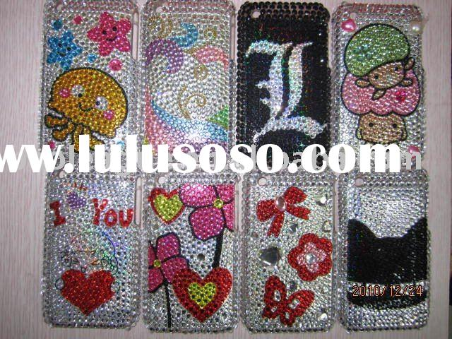 Fashion Crystal Diamond Cover Case for Apple iPod Touch 2G 3G