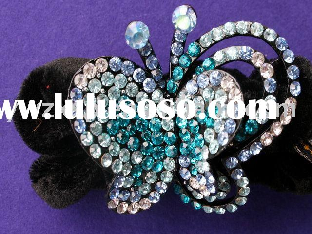 Fashion butterfly hair accessories--- the most top-quality supplier in China